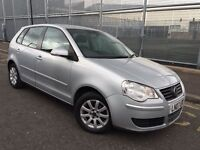VOLKSWAGEN POLO 1.4 SE = NEWER SHAPE = 5dr = 2007 = £1490 ONLY =