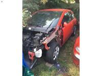 Breaking red Vauxhall Corsa 1.2 sxi spares wheels alloys door boot radio mirror