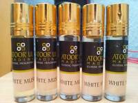 8ml white musk fragrance perfume oil attar New Alcohol free