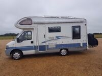 Peugeot Elddis Suntor LS 4 Berth Motorhome - All ready to go with new extras