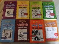 8 x Diary of a Wimpy KId