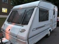 2 berth abbey expression caravan 1998