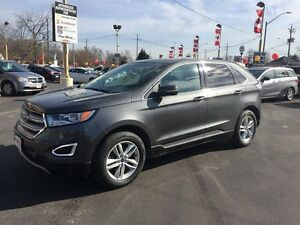 2015 FORD EDGE SEL AWD -   LEATHER HEATED SEATS, REAR VIEW CAMER