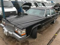 CADILLAC DEVILLE 6.0L AUTOMATIC 1981REG FOR SALE