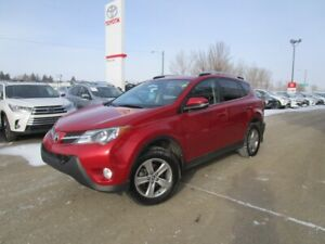 2015 Toyota RAV4 XLE One Owner, Toyota certified Priced to Sell