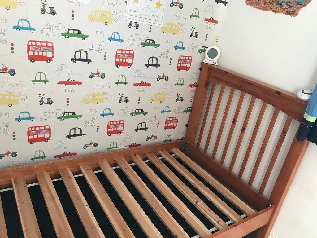 Wooden single bed Peterculter pick up