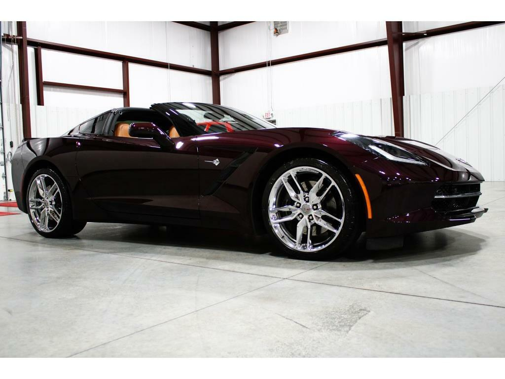 2017 Black Chevrolet Corvette Stingray 2LT   C7 Corvette Photo 7