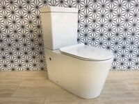 TOILET(ROUND DUAL FLUSH ULTA SLIM SEAT) BOXED BRAND NEW