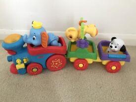 Fisher Price Disney Sing Along Amazing Animals Choo-Choo Train