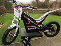 Oset 16 electric trials bike
