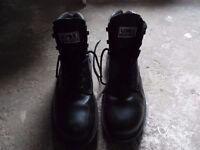 Uvex Origin Black Safety Boots Size 10