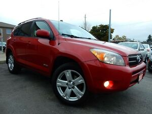 2007 Toyota RAV4 V6 4WD | SPORT | P.SUNROOF | NO ACCIDENTS Kitchener / Waterloo Kitchener Area image 1
