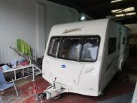 Bailey Senator Indiana Series 5 4 Berth Fixed Bed Tourer 2006