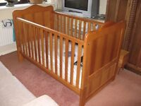 For Sale John Lewis cot bed little use £25.00 Buyer collects