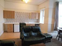 One bed flat situated in Grande Parade on the Hoe in Plymouth.