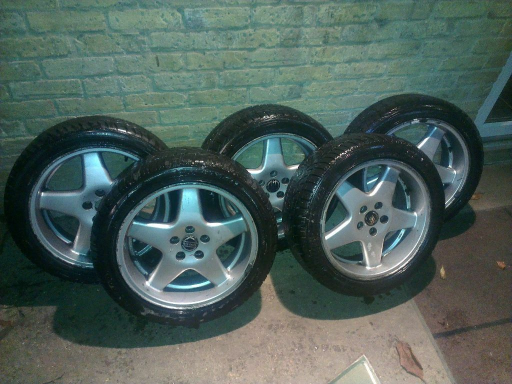 Genuine Volvo Rare Polaris Alloy Wheels Set Of Five
