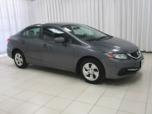 2014 Honda Civic LX! LOW KMs!! Heated Seats! A/C, Cruise, Power