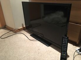 "Sharp LCD TV 32"" with remote - Great condition"