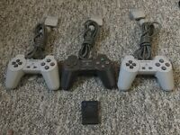 PS1/PS2 Controllers (Compatible with PS3/PS4 and PC aswell)