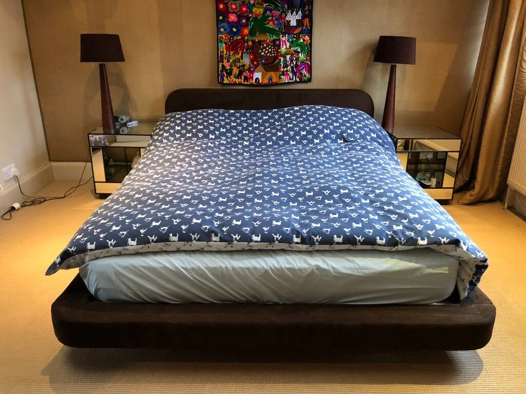 Groovy Bedroom Suite Double Bed Mattress Bedside Tables Lamps Wardrobe Chest Of Drawers And 2 Chairs In Camden London Gumtree Home Interior And Landscaping Palasignezvosmurscom
