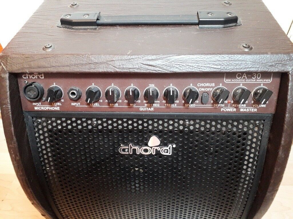 Chord Ca Series Acoustic Guitar Amplifier Ca 30 Still For Sale