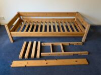 Single Bed or Cabin Bed, Solid Pine