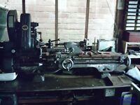 Myford 3/4HP metal turning lathe