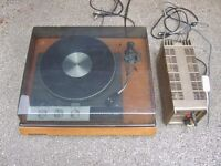 Garrard 401 Turntable + SME 3009 + QUAD 303 Amplifier