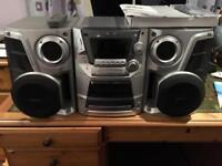 Large Panasonic CD stereo system