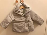 Zara girls jacket, age 6-9month