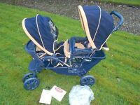 Graco Stadium Duo Luxe Twin Buggy