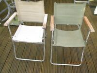 Ex military chairs
