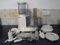 Kenwood Food Processor/liquidiser plus attachments