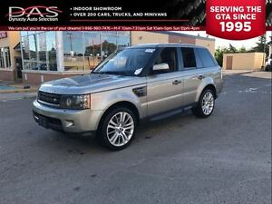 2010 Land Rover Range Rover Sport HSE LUXURY NAVIGATION/LEATHER/