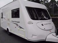 Fleetwood Heritage Two Berth Touring Caravan