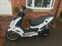 PEUGEOT SPEEDFIGHT 3 - 50CC - 14 PLATE - ICEBLADE - IMMACULATE CONDITION