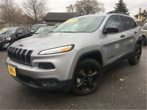 2016 Jeep Cherokee Sport V-6 4x4 BACK UP CAMERA ALTITUDE