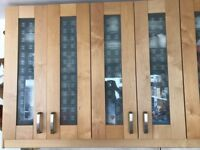Used kitchen cupboards selling as having new kitchen