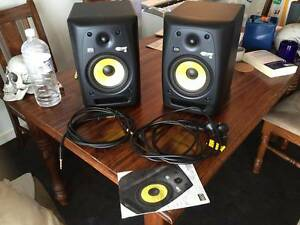 2 x KRK Rokit 6 Proffessional Studio Speakers + 2 trx cables East Brisbane Brisbane South East Preview