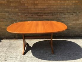 Retro Teak Mid Century G Plan Extending Dining Table