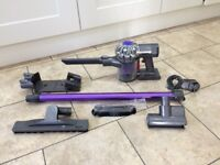 Dyson DC58, V6 Cordless Vacuum Cleaner – Repairs or Spares