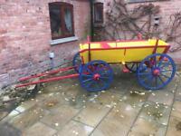 European horse drawn cart