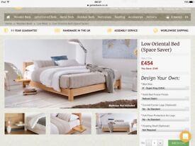 Wooden super king bed frame