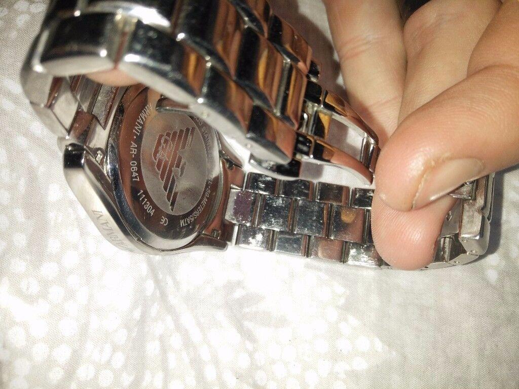 Genuine emporio Armani watch, great piece not rolex,