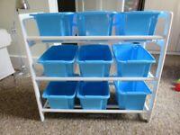 Small shelf for children's toys