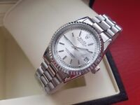 New Rolex Date Just Silver for sale!£35!