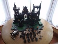 Mega Bloks Dragons Dragon Tower and Extras