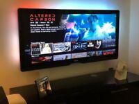 "Philips 56"" Cinema 21:9 Widescreen TV 56PFL9954H HD 1080P internet Television 47"" 50"" 55"" £399"