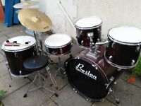 Drum kit, ideal for child looking to try drumming