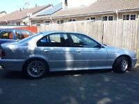BMW 520I ES SE Auto for sale or swap for smaller car.